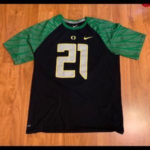 Men's Nike Oregon Ducks Top, Size Large